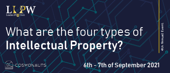 What are the four types of Intellectual Property Copyrigh